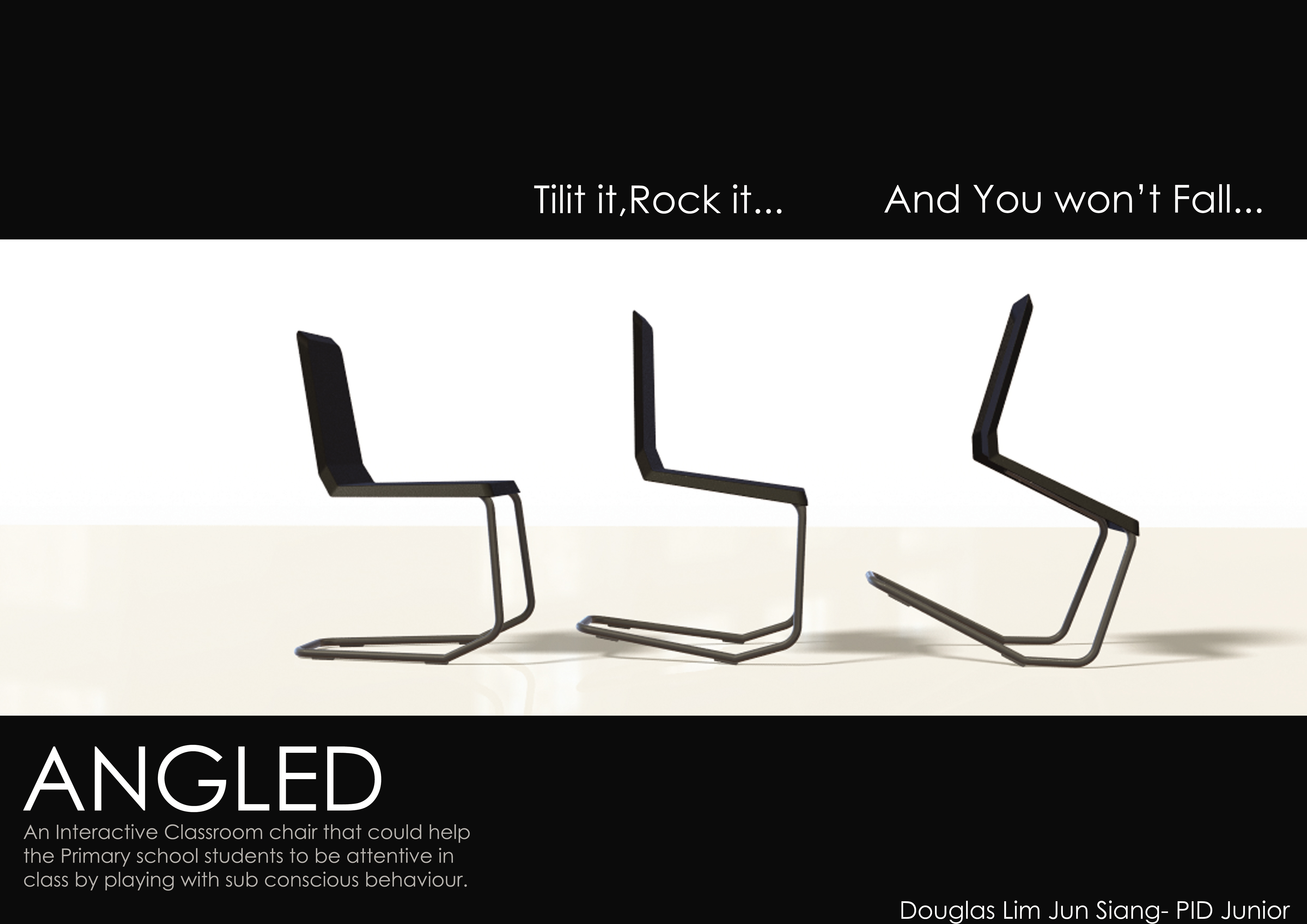 Angled Furniture Design By Douglas Lim At
