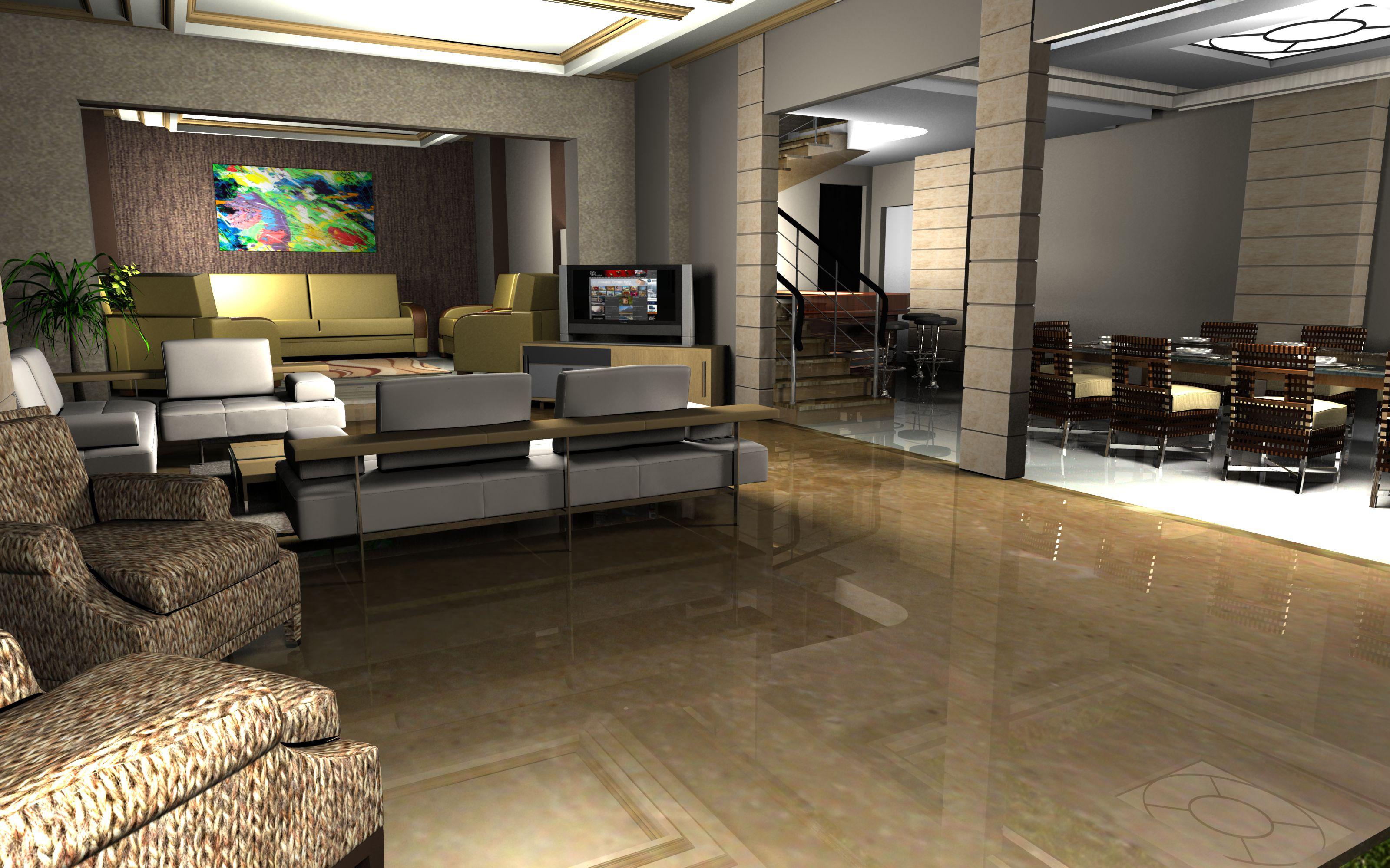 Villa khalid in jumeirah by vic nopuente at for Best modern villa interior design