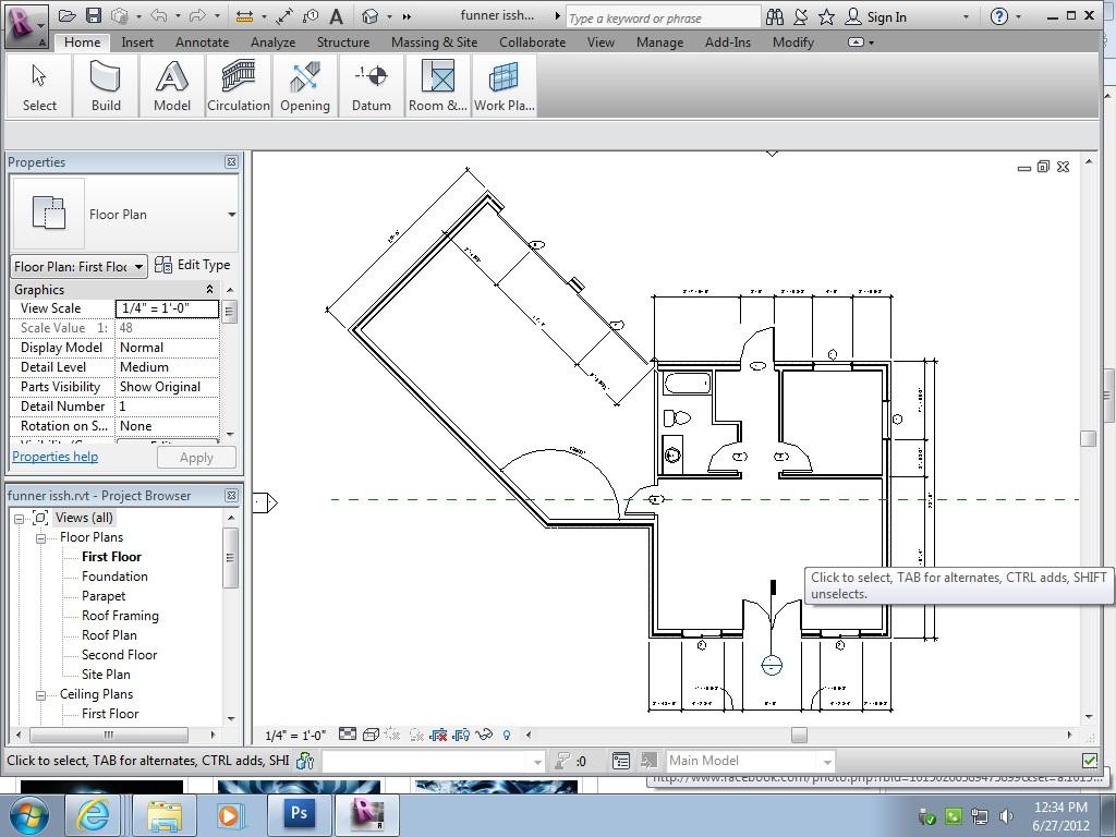 Revit house plans for Revit architecture house design