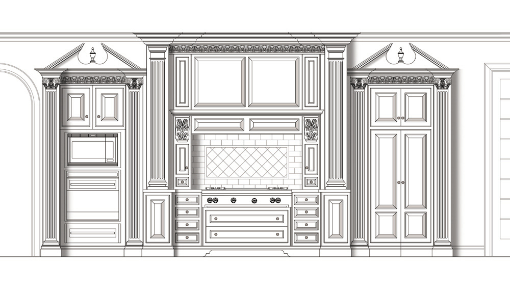 Cabinetry Design By Christopher Bendorf At