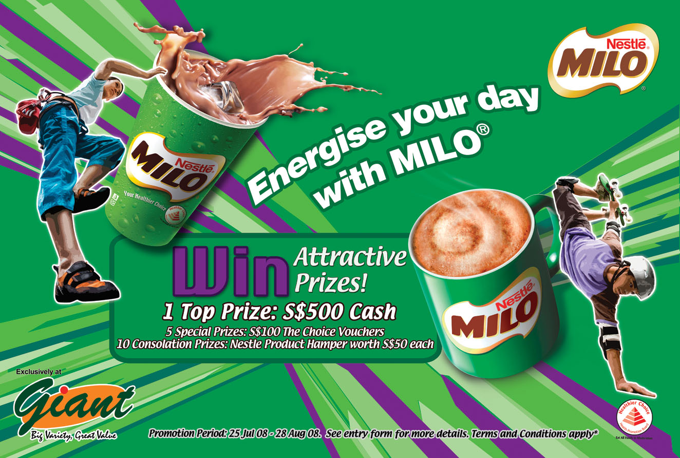 Milo ◦ coupons ◦ September 2018