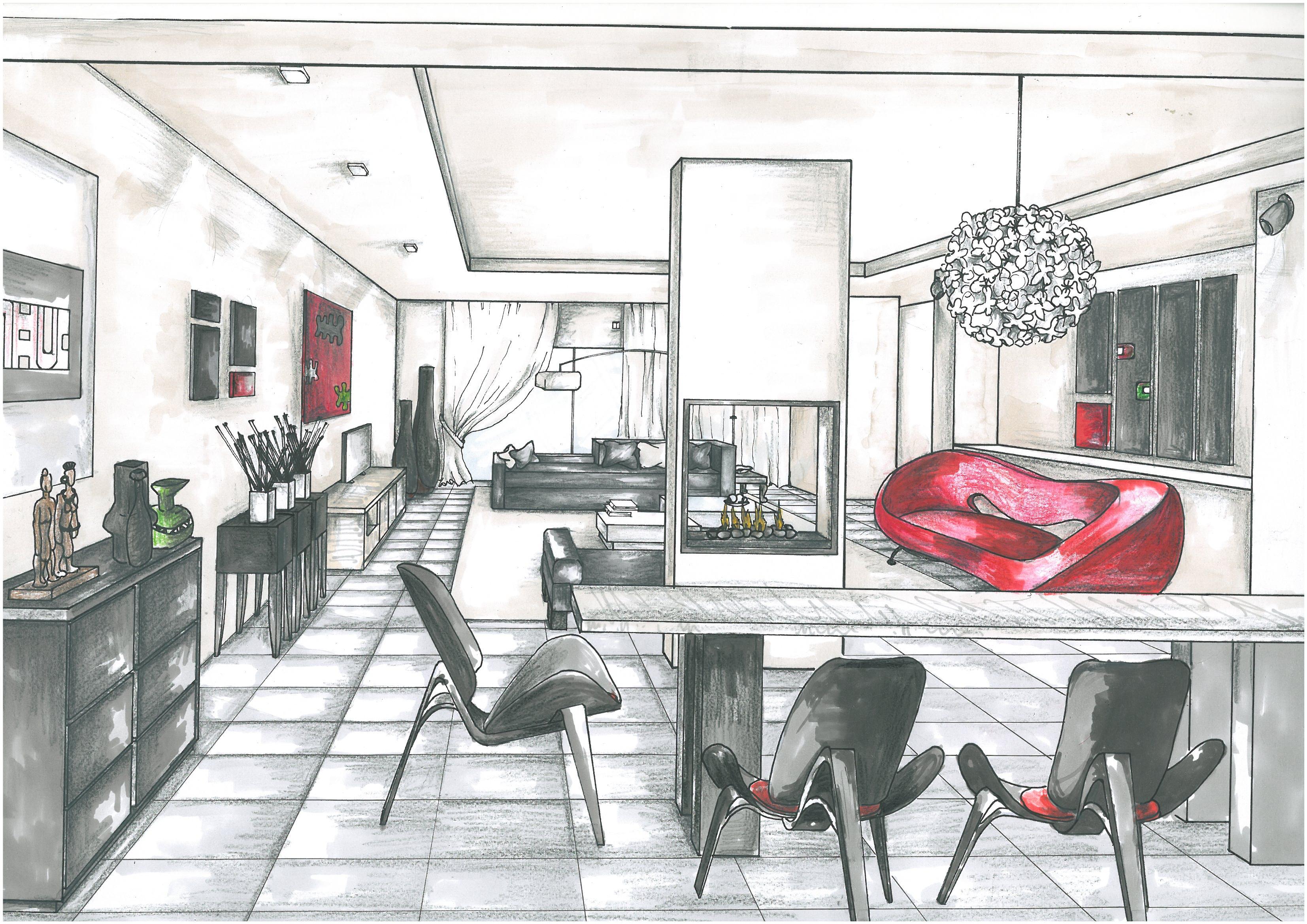 Interior Render 2010 By Joy Ezeka At