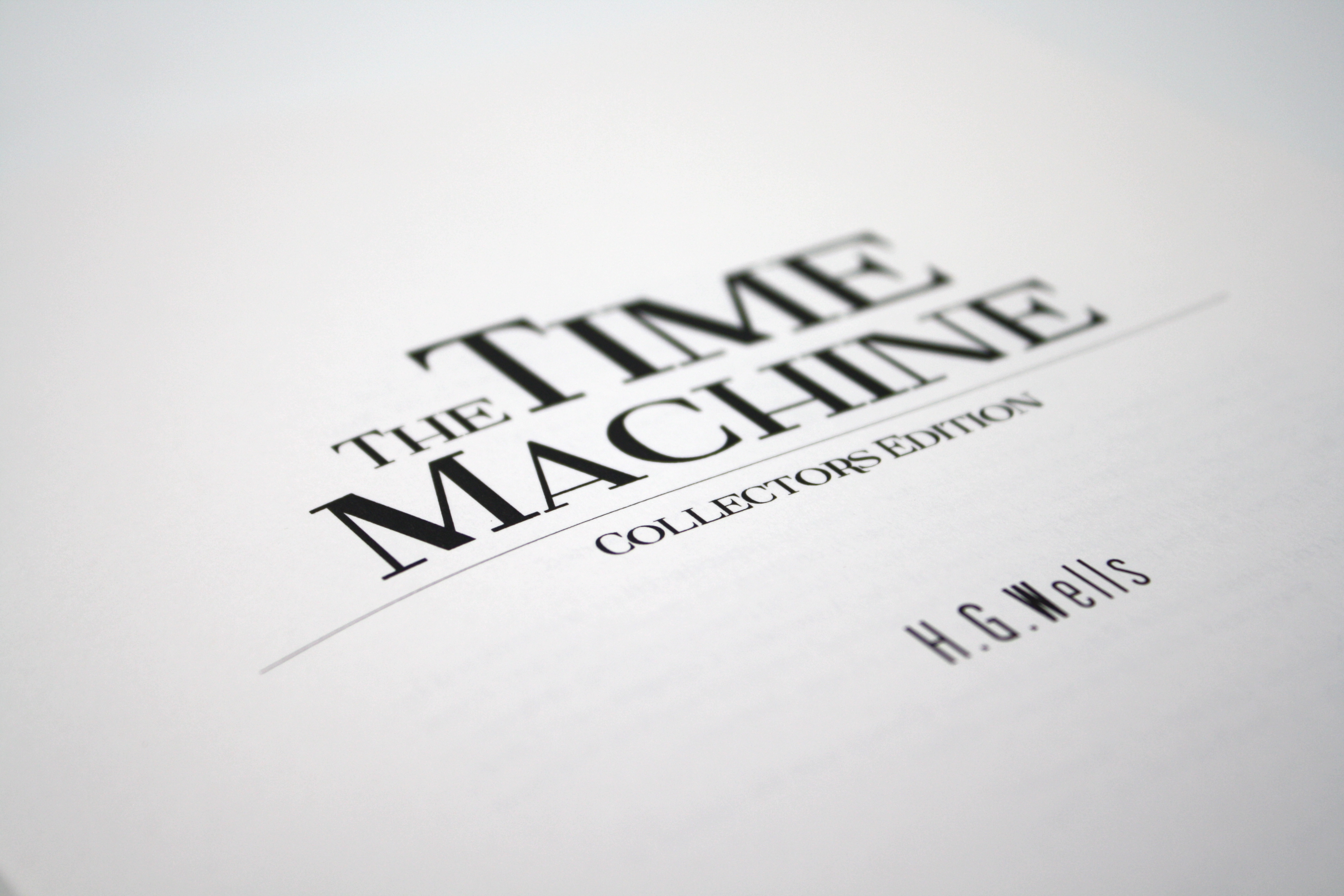 Book report on the time machine