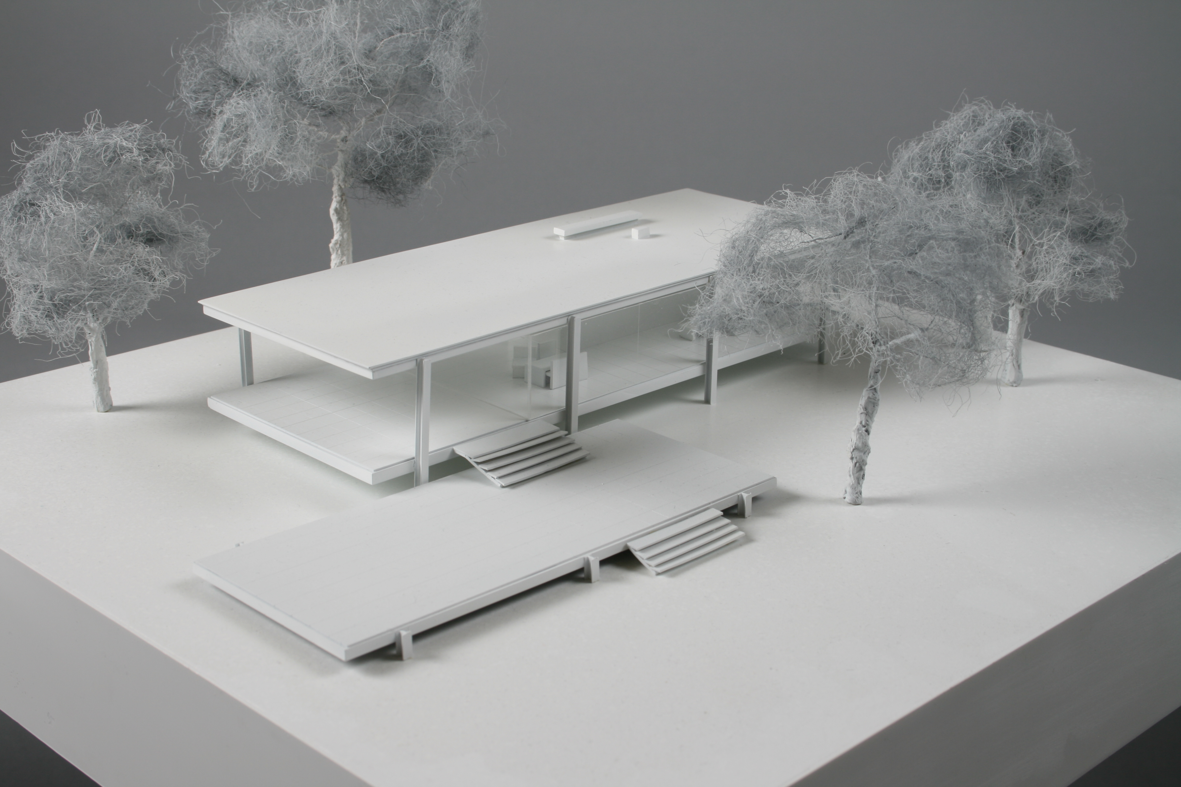 Farnsworth house by steve hayward at for 4 1 architecture example