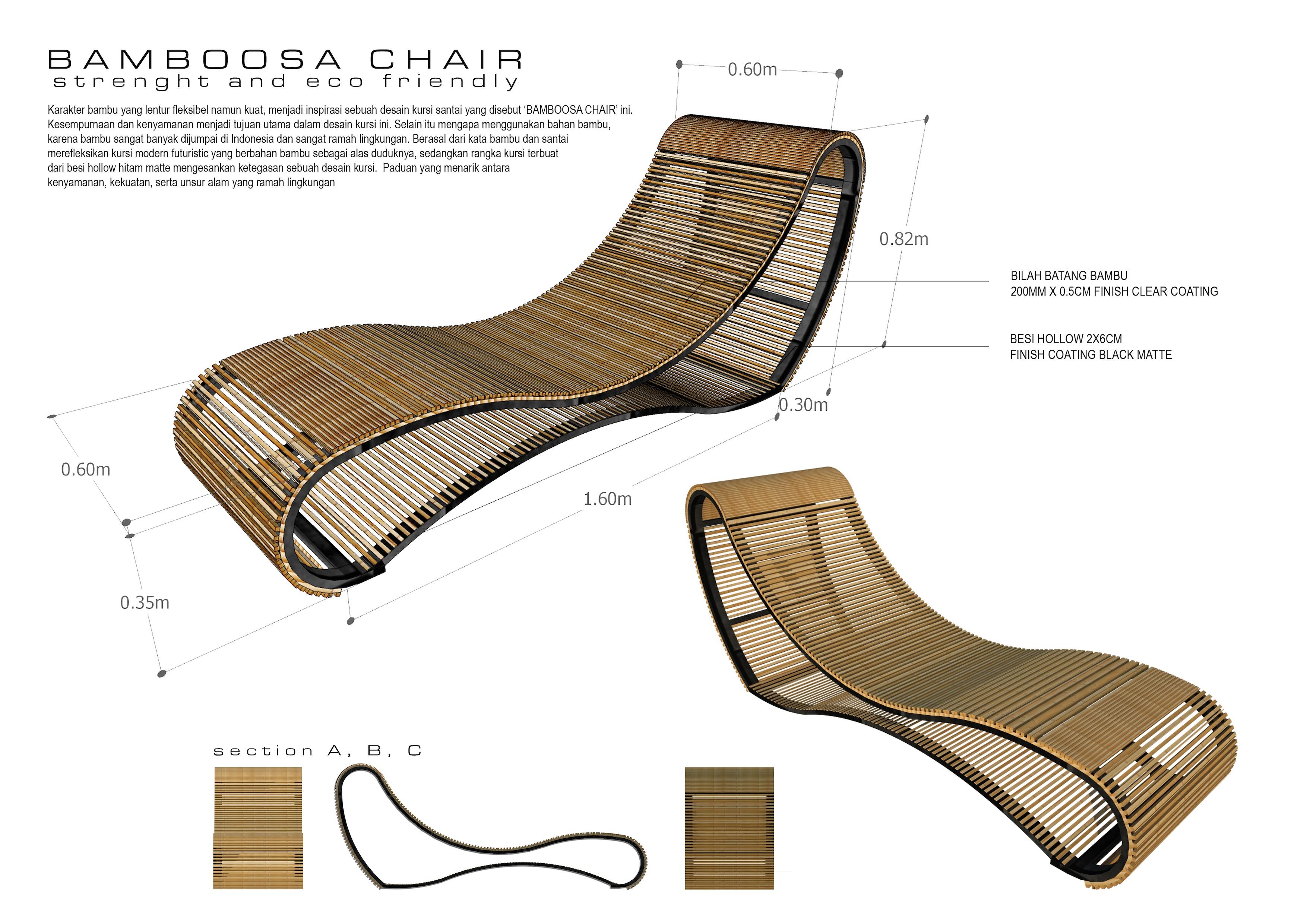 Bamboosa Chair by Ricko Pradiantoro at Coroflot