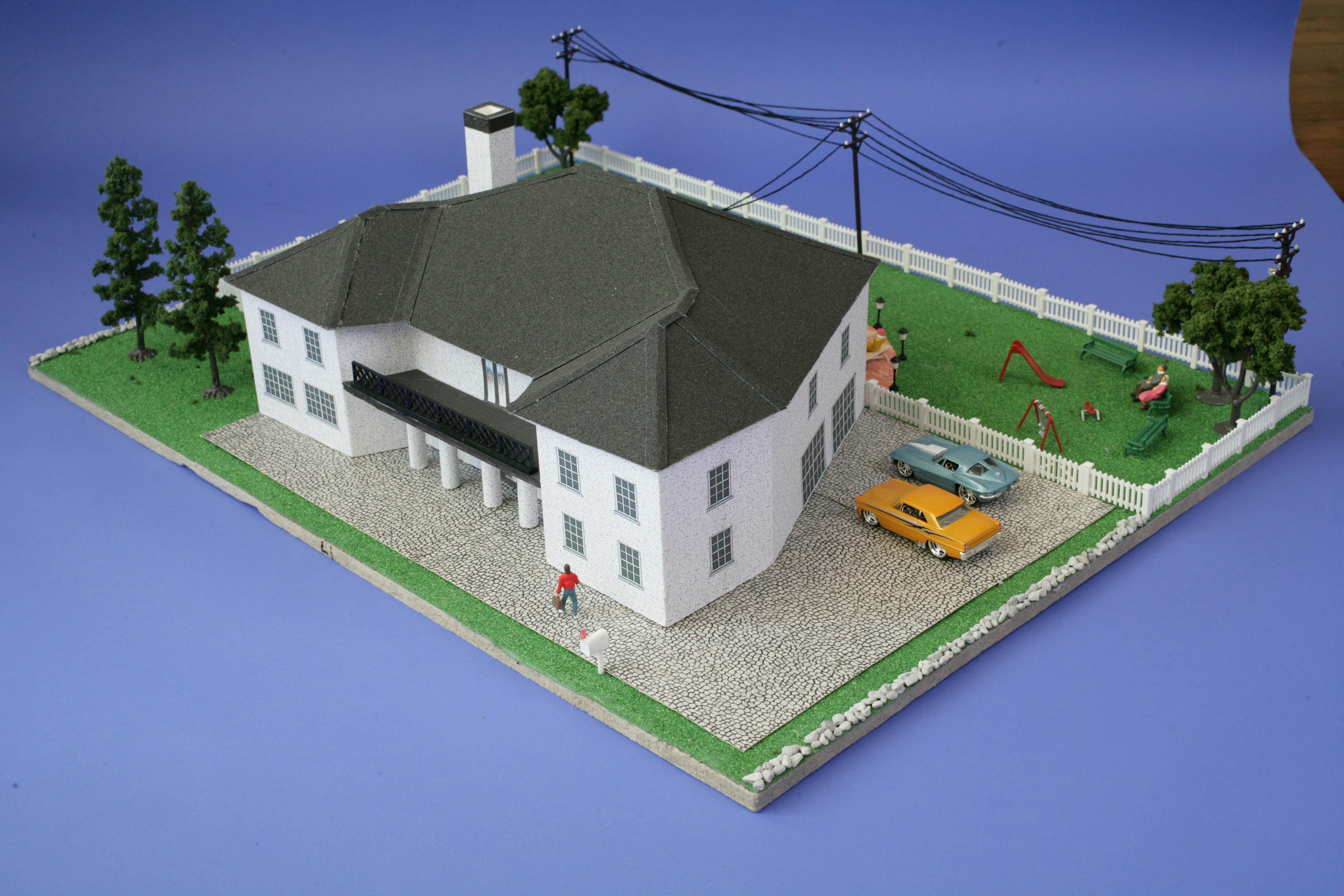 Architecture House Model the model housemichael mattana at coroflot