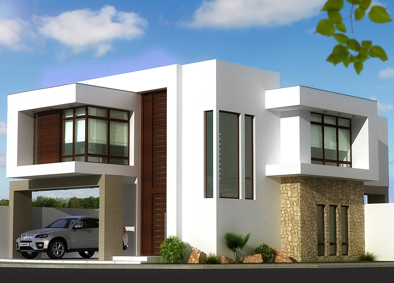 Contemporary houses by ilse meraz at for New model contemporary house