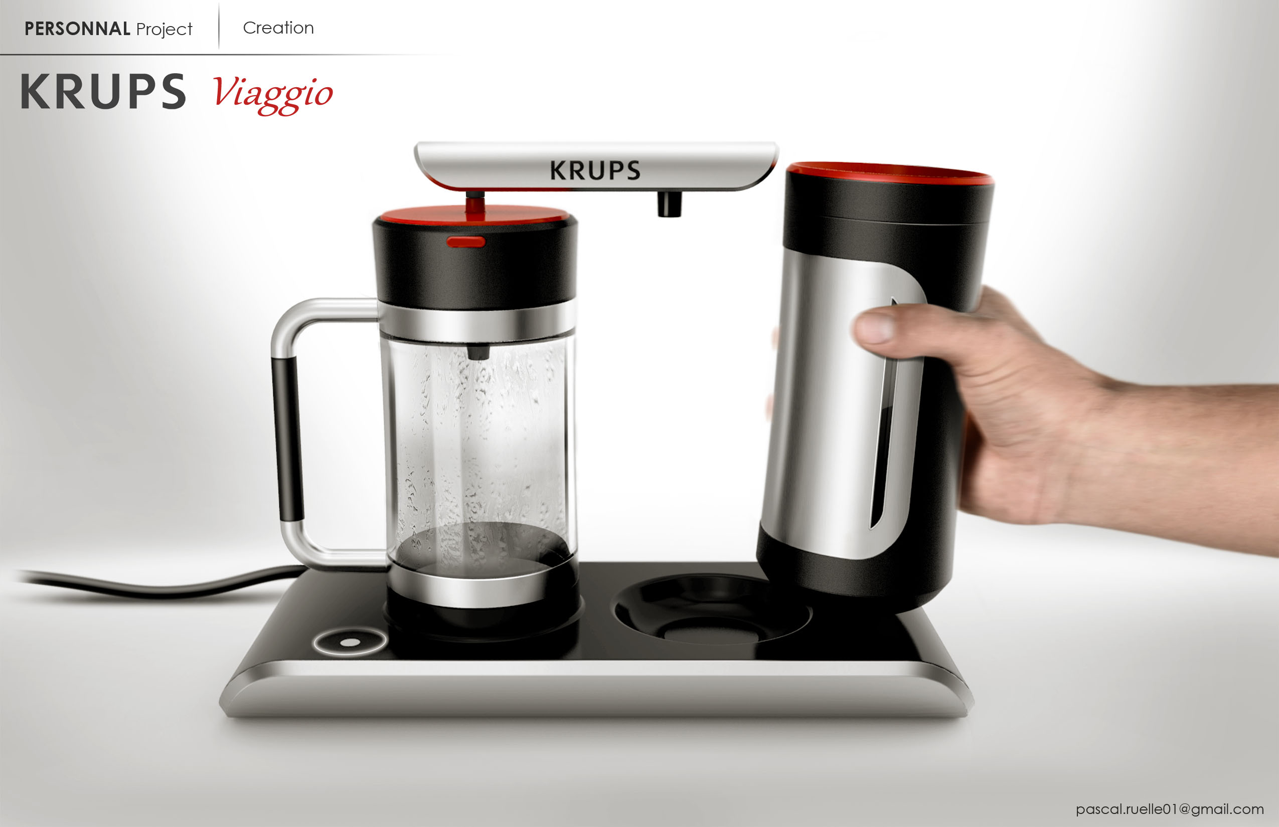 KRUPS - Thermos coffee maker by pascal ruelle at Coroflot.com