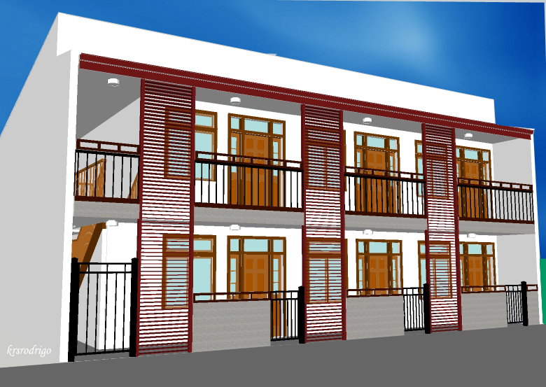 Residential by kristin rodrigo at for 4 apartment house plans