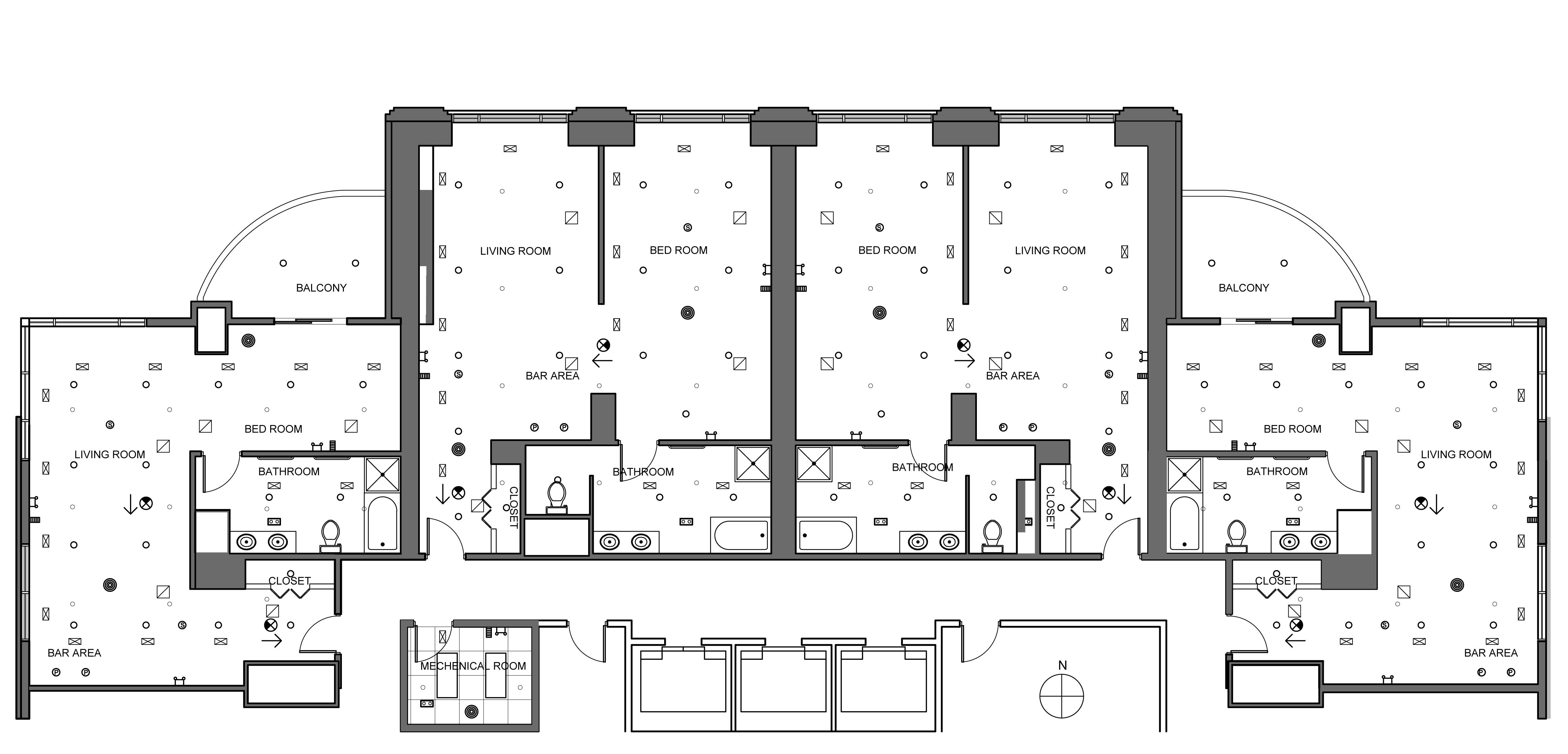 Hotel lobby floor plan - Hotel Suite Rcp