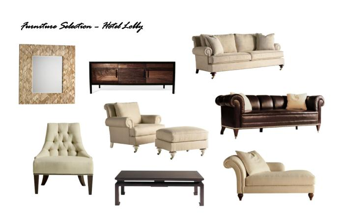Hotel Lobby Furniture Selection