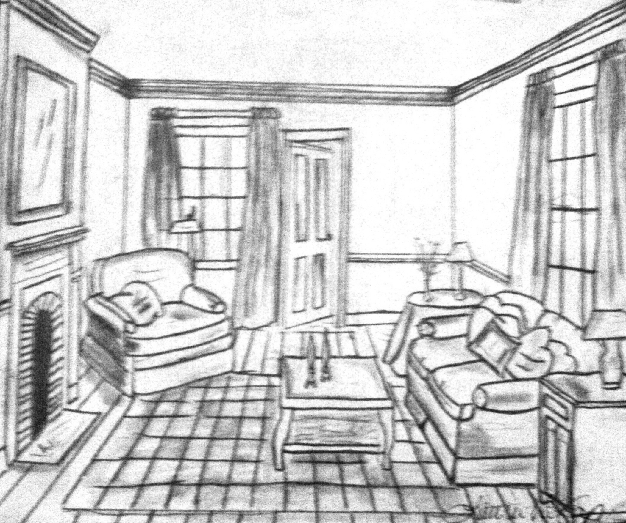 Living Room Living Room Drawing pictures drawing in bedrooms interior design qarmazi basic living room sketch room