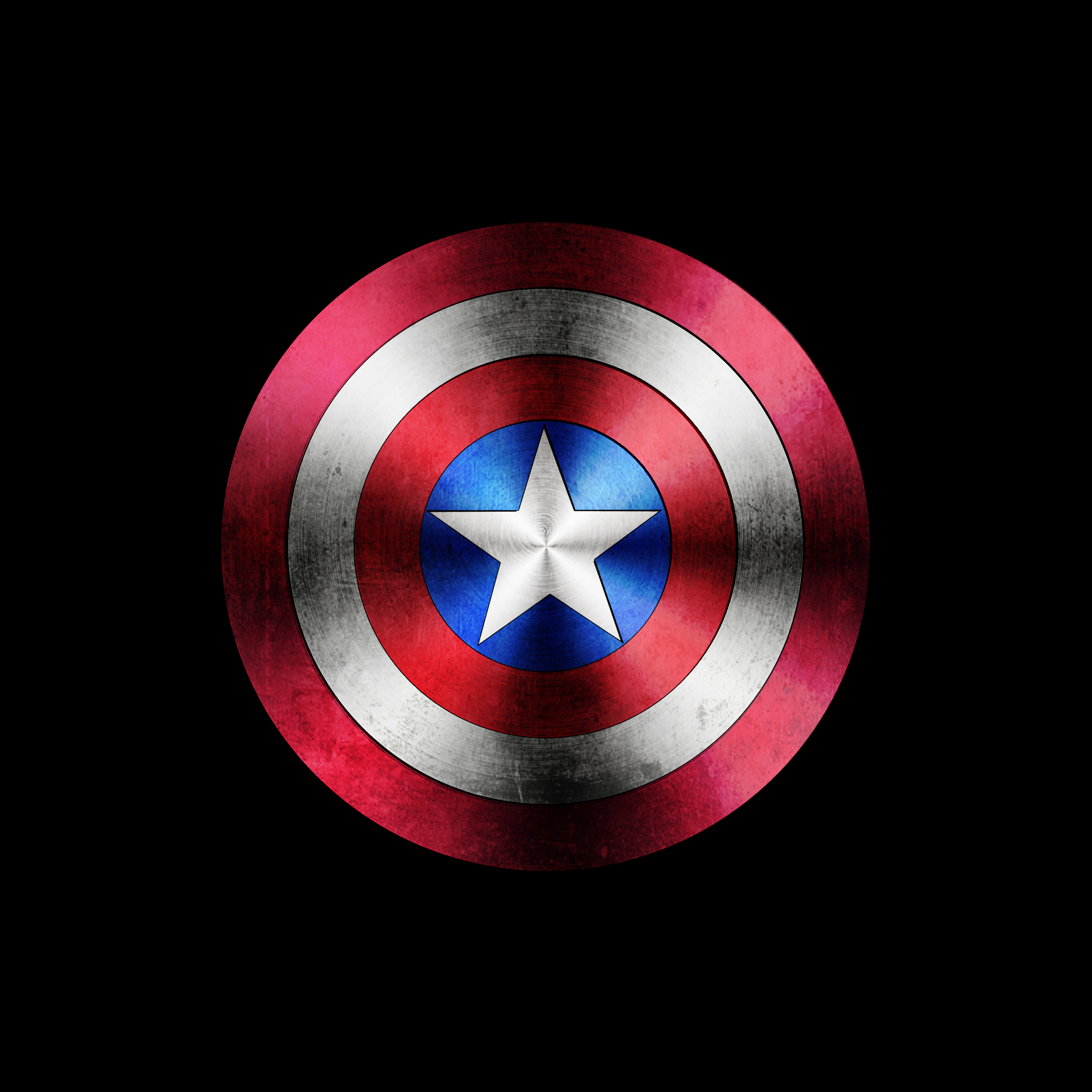 captain america shield by ryan godolphin at. Black Bedroom Furniture Sets. Home Design Ideas