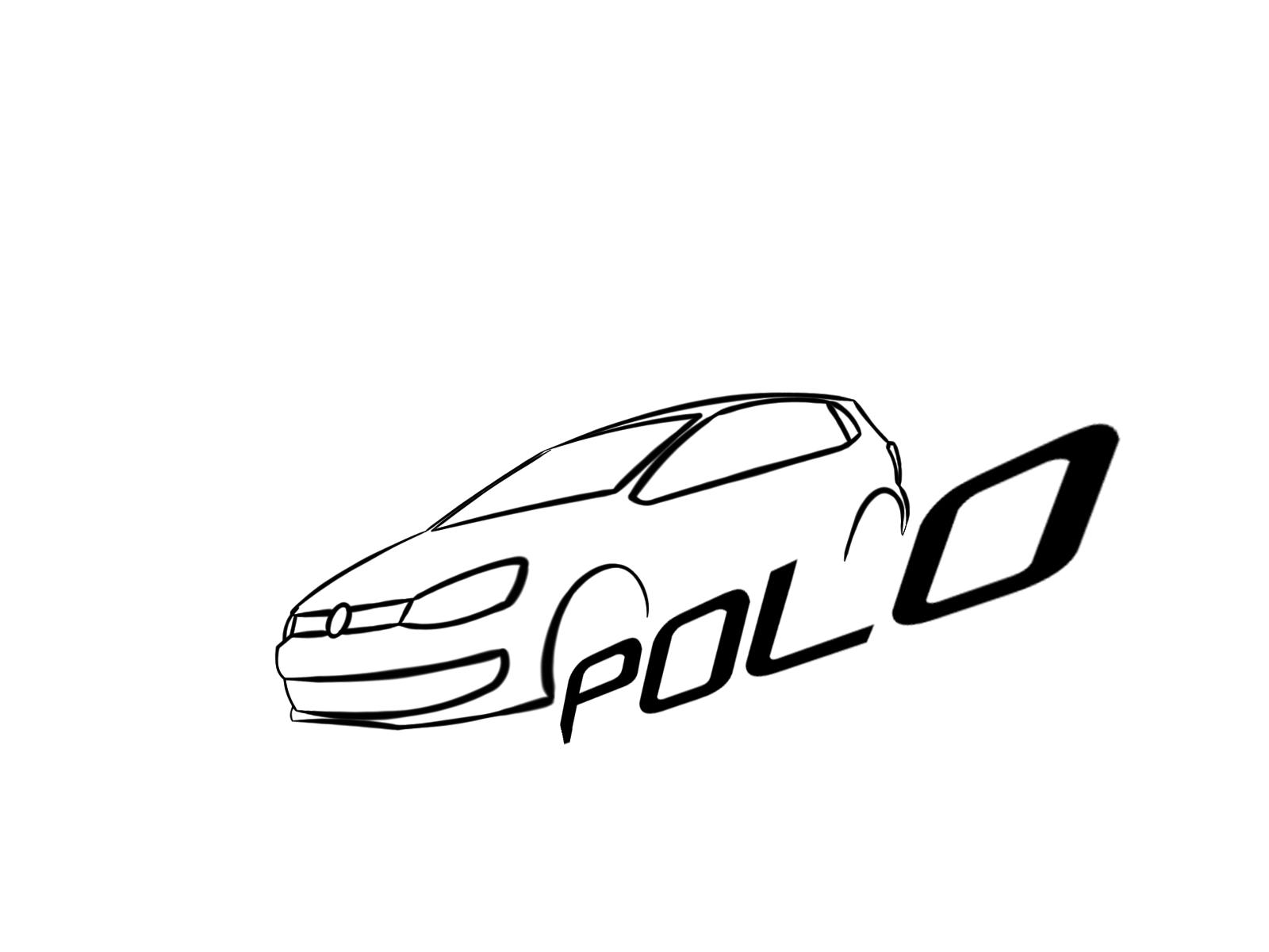 Vw Polo Stylized Logo By Ionut Octavian Dima At Coroflot Com
