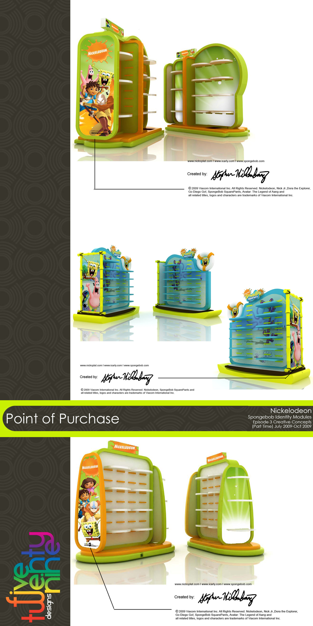 point of purchase by rene perlada at coroflot com