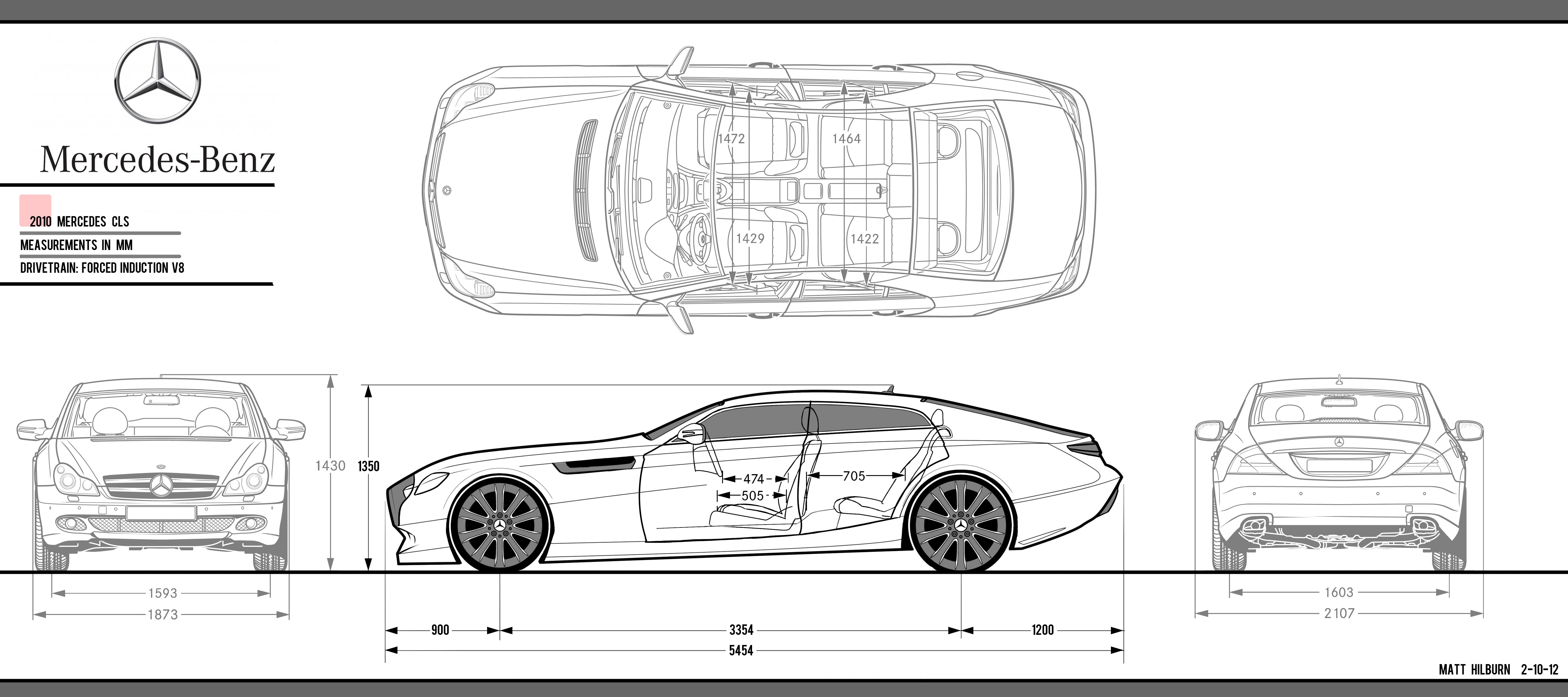 Mercedes Project 2012 Interior Exterior Model By Matt