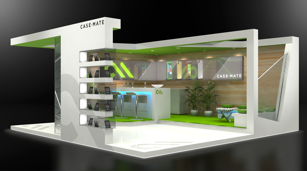 Exhibition Booth Design : Custom exhibit design by jeff vavrek at coroflot