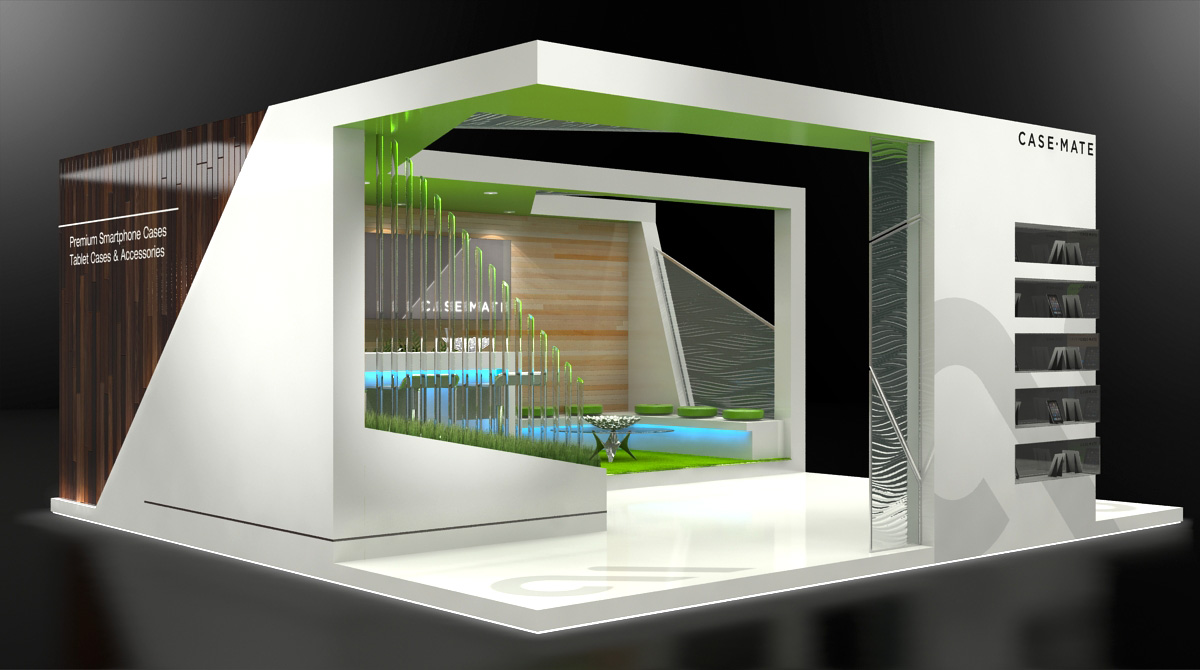 Custom Designed Exhibition Stands : Custom exhibit design by jeff vavrek at coroflot