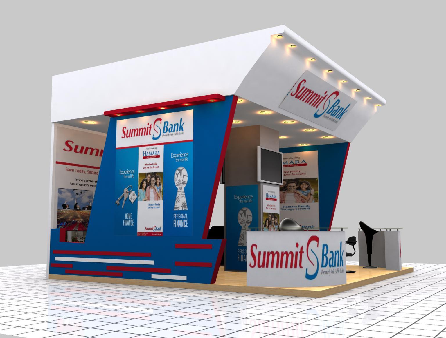 3d Exhibition Stall Design Job : Stall design by erfan faisal at coroflot