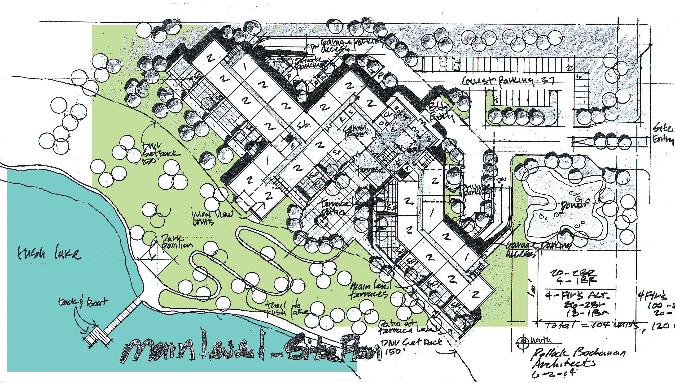housing site planning house plan