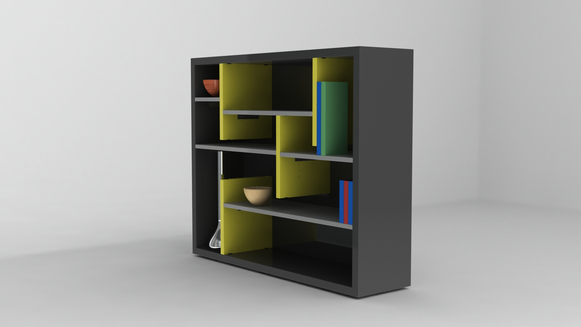 flat pack storage unit for habitat by ross wilson at
