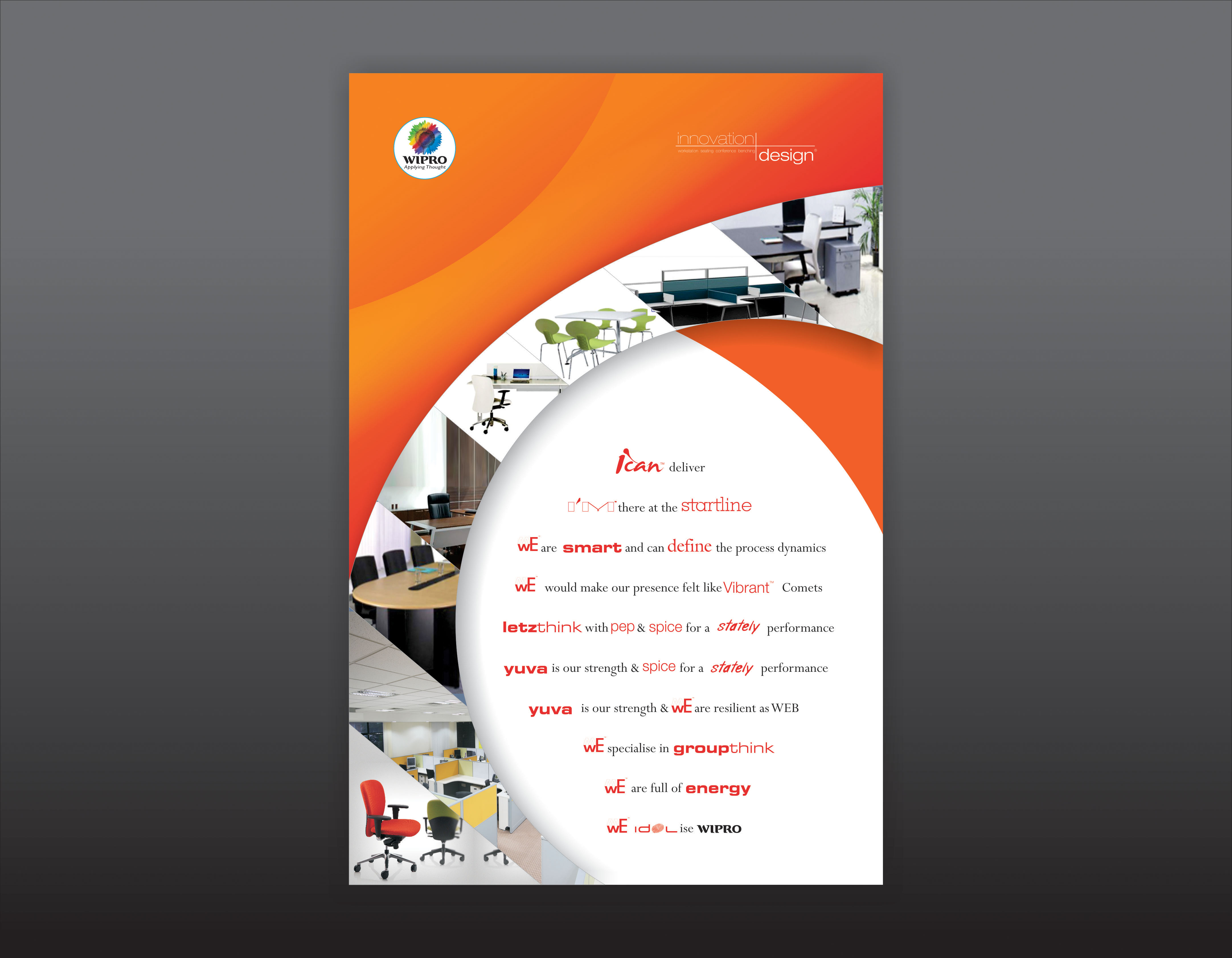 Poster design using corel draw - Poster Design For Furnites