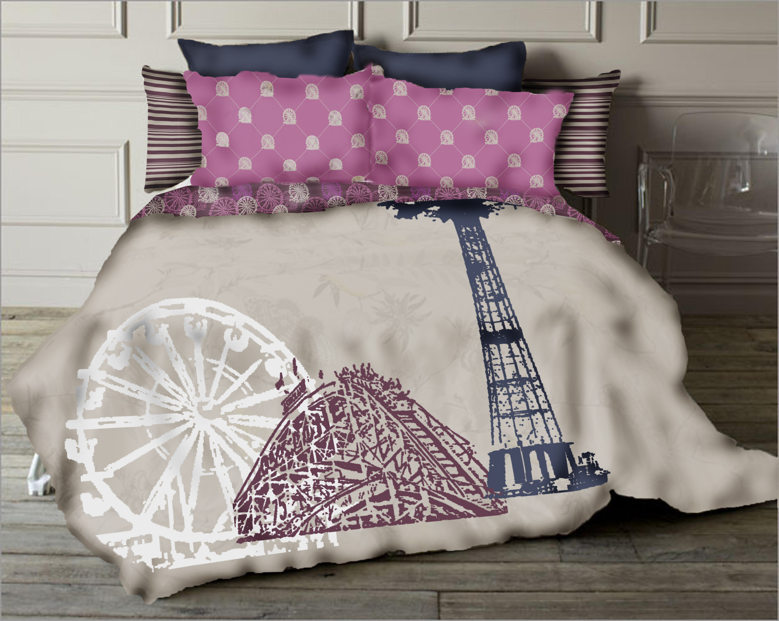 coney island bedding tween bedding collection