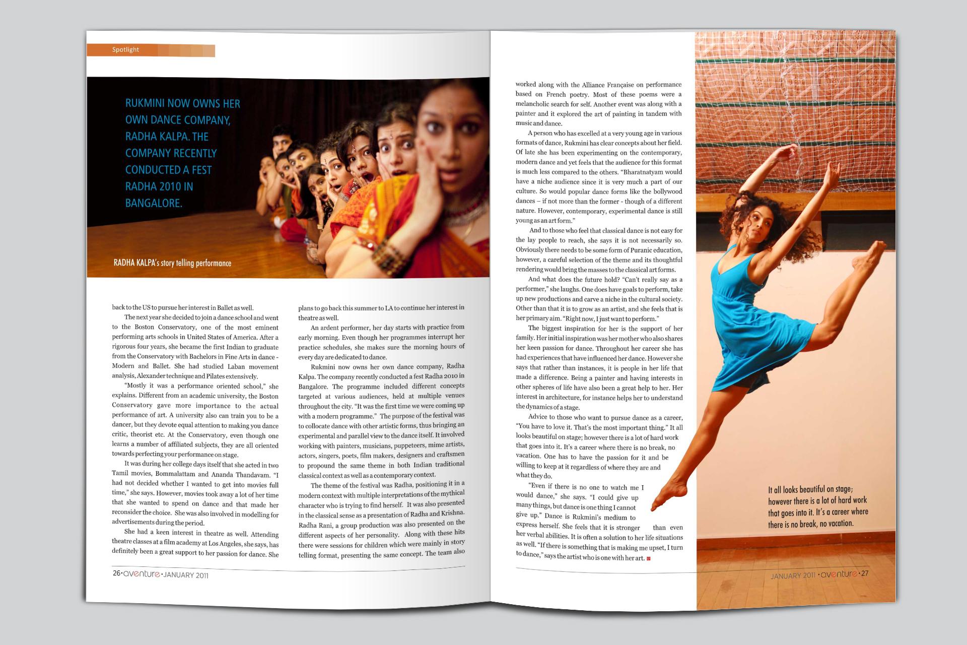 Magazine Layouts by Suresh Gopalakrishnan at Coroflot.com