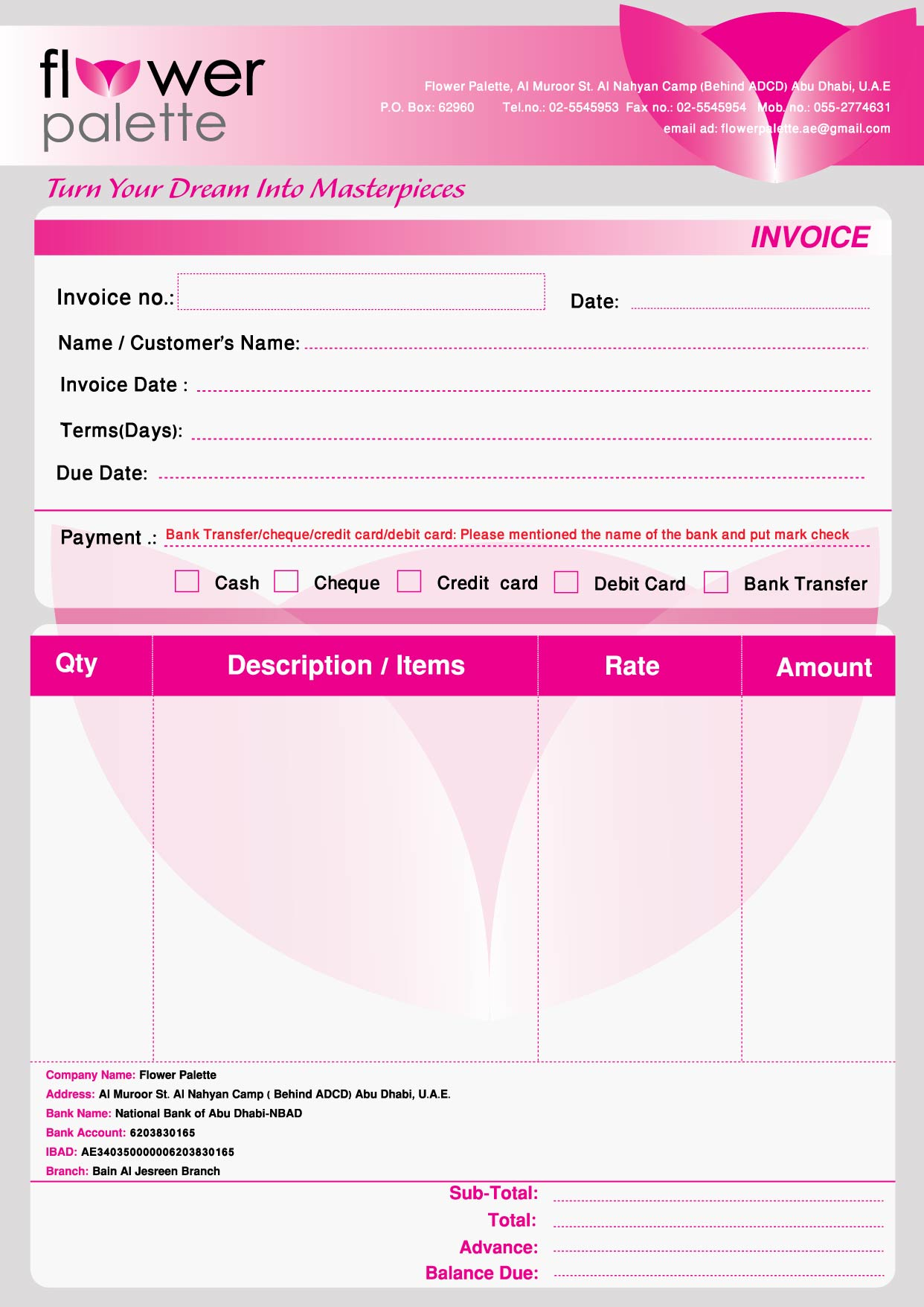 Wedding Flowers Quote Form Wedding Flower Quote Template The Best - Flower shop invoice template