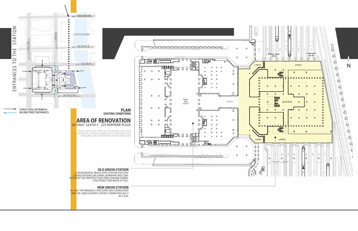 Union station floor plan thesis chicago union station by Floor plan search engine