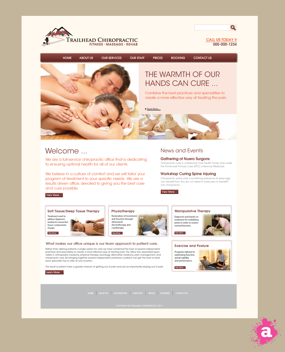chiropractic website template wordpress theme and templates