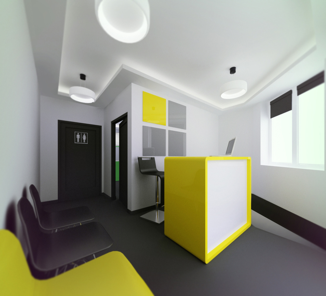 Small Dental Clinic Interior By Piotr Wiosna At Coroflot Com