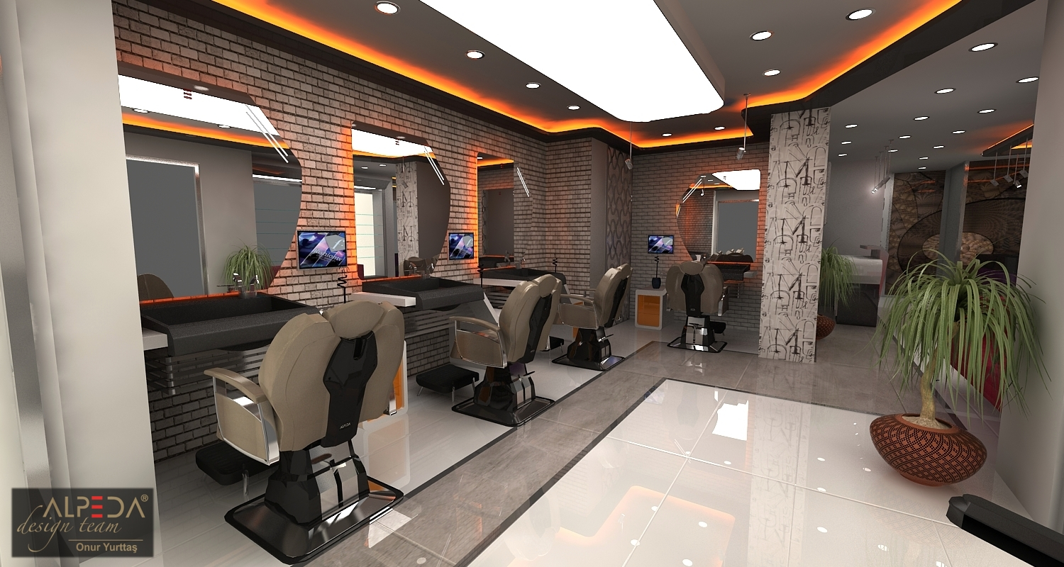 Coiffure Salon Design By Onur Yurttas At