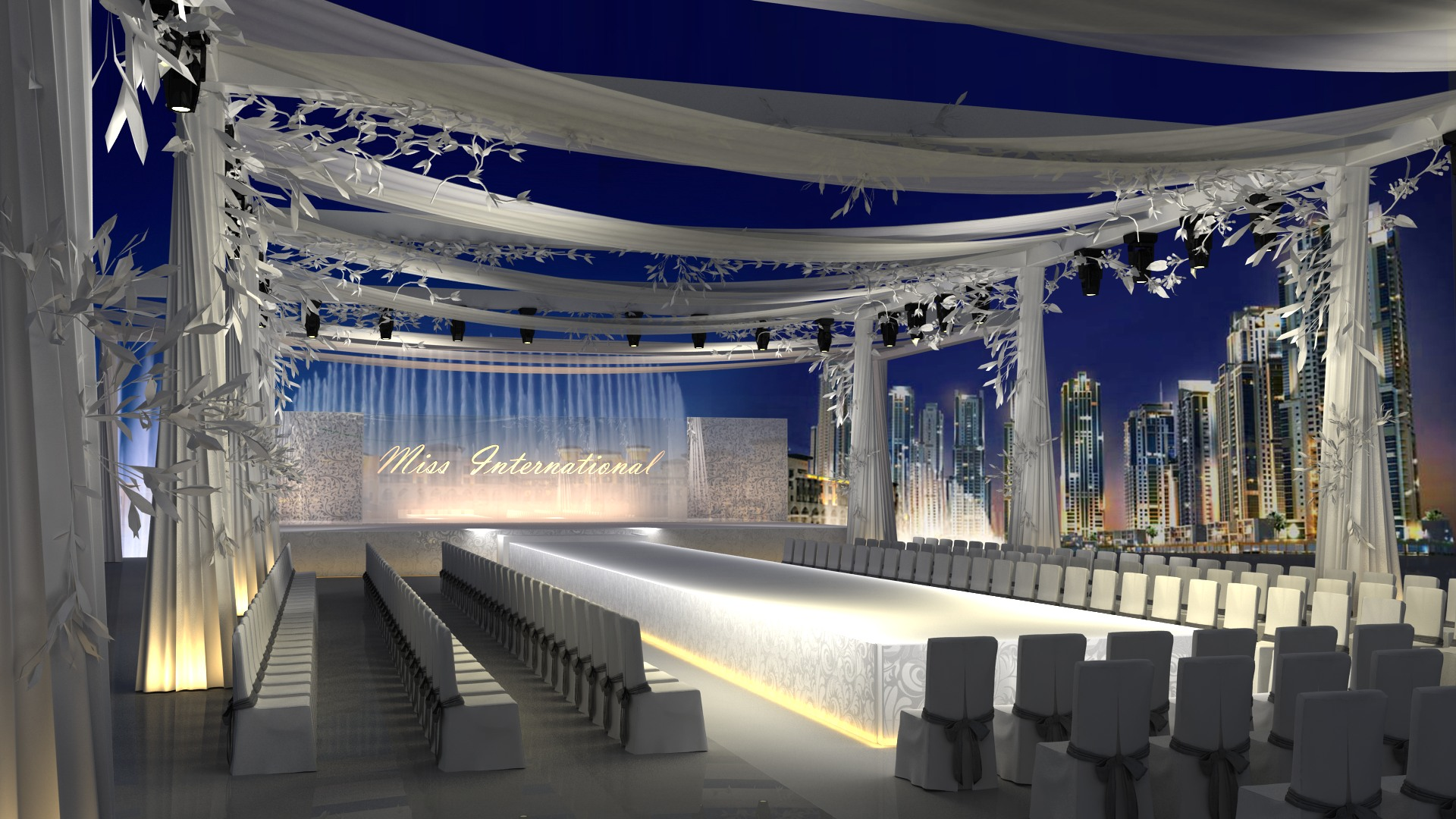 Fashion Show Stage Design Architecture Plans Images Galleries With A Bite