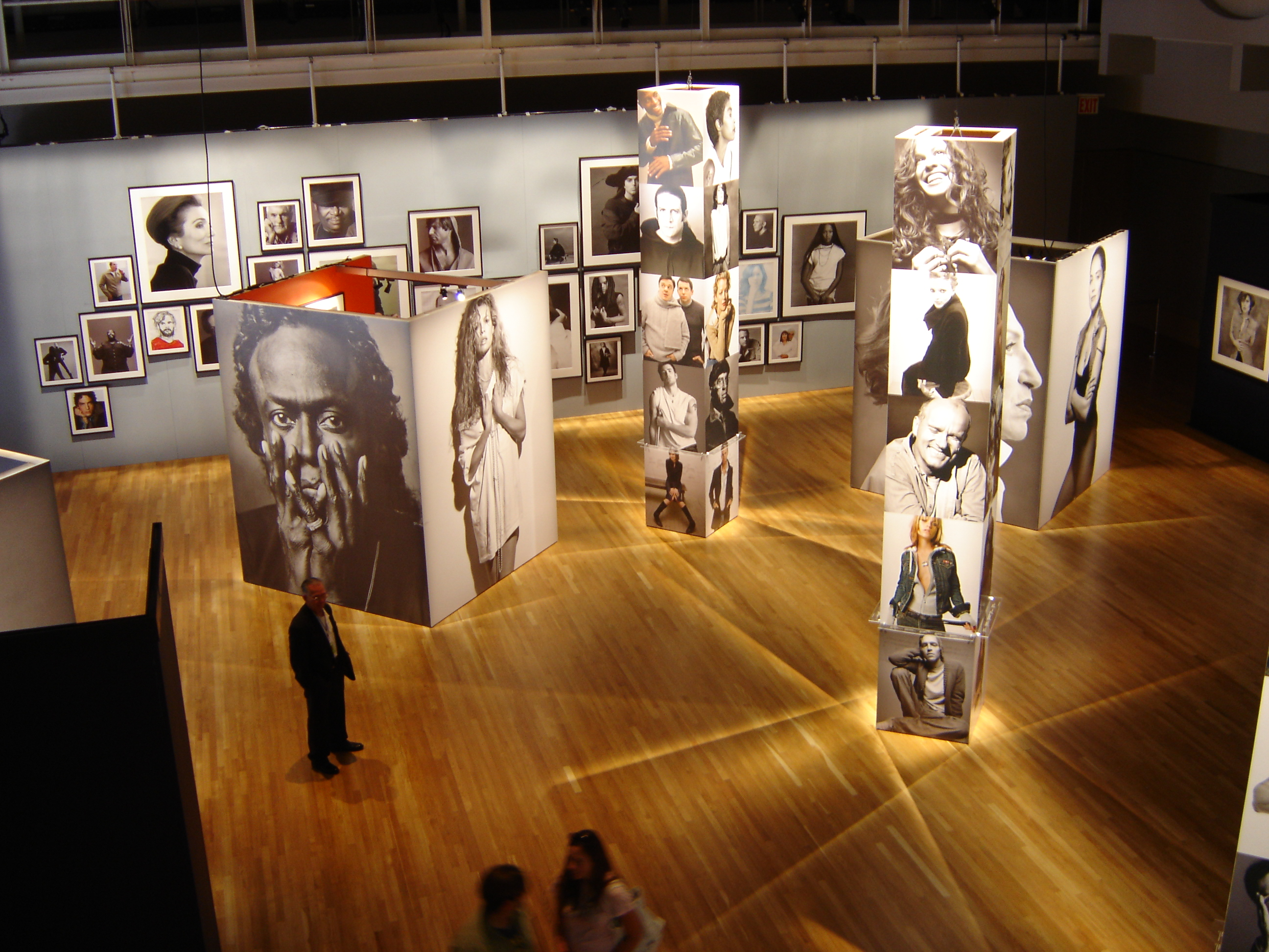 Exhibition Booth Photography : Individuals exhibition by frances liddell at coroflot