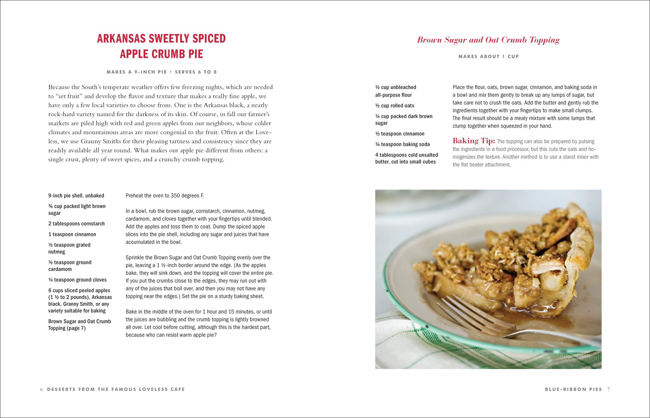 loveless cafe dessert book by susan baldaserini at