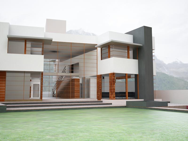 Casa atlamaya by arco arquitectura contempor nea at for Raccordo casa contemporanea