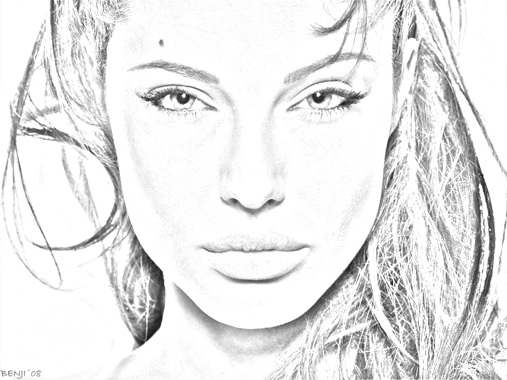 H Favorite Qview Full Size Angelina Jolie Draw Edit