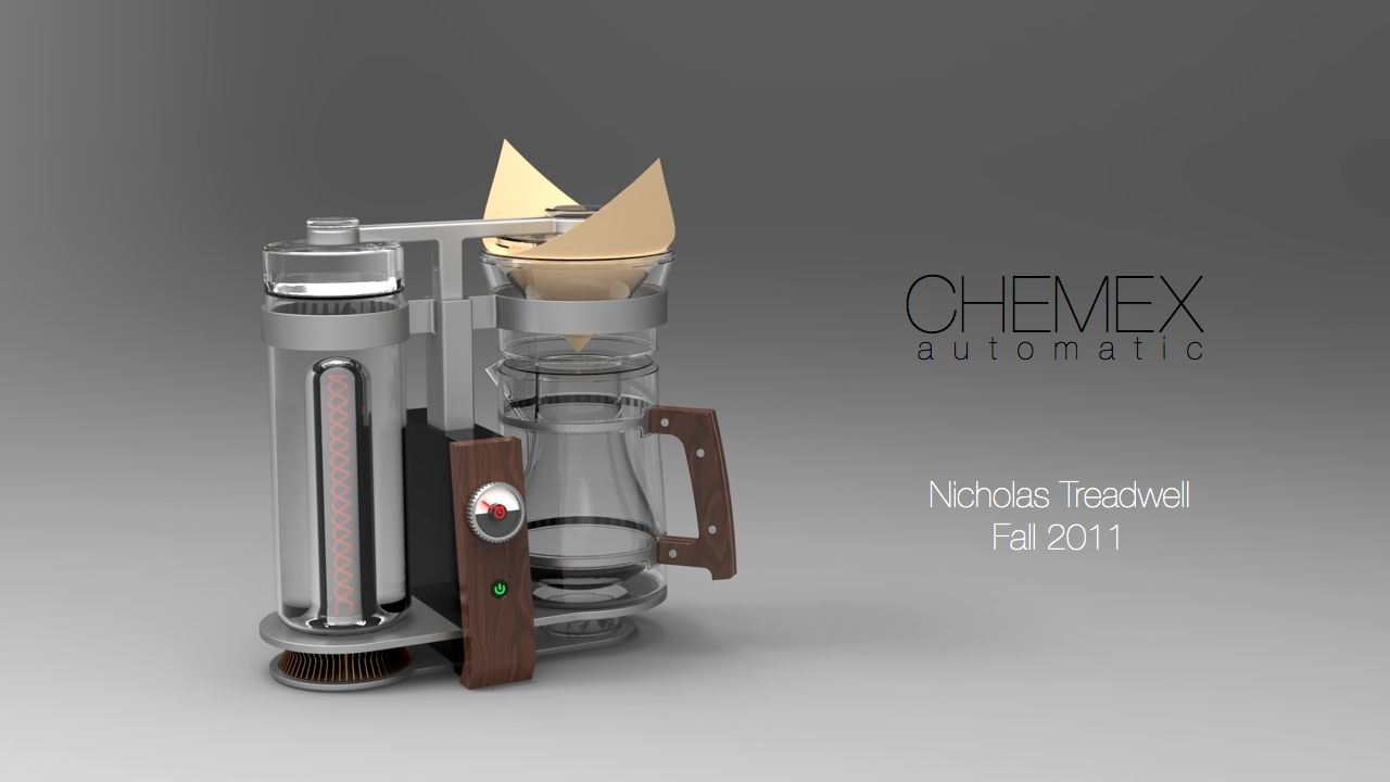 How Does Chemex Coffee Maker Work : Chemex Automatic by Nicholas Treadwell at Coroflot.com