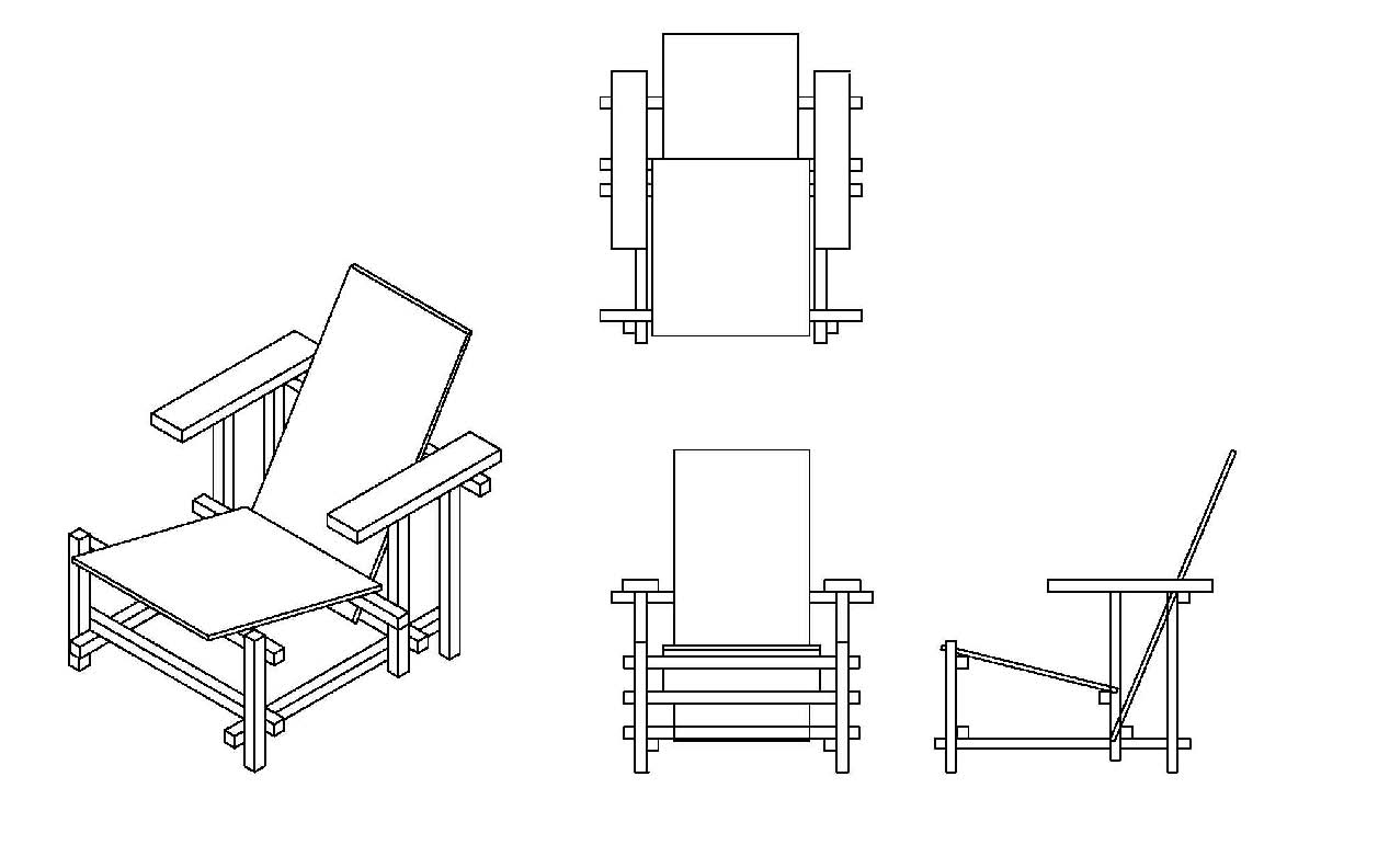 Furniture Technical Drawings of Technical Design And 3d