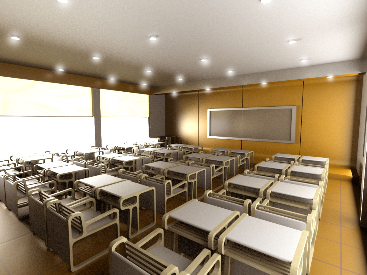 Modern Classroom With Students : Modern classroom by the door interiors kate choo at