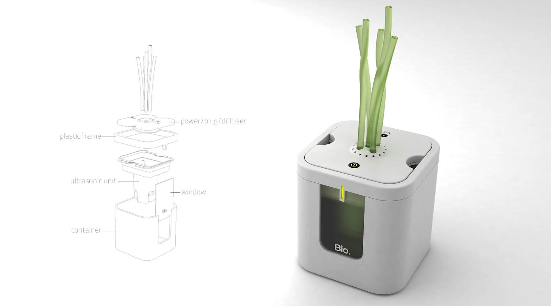 BIO Humidifier Humidifier concept #A0A625