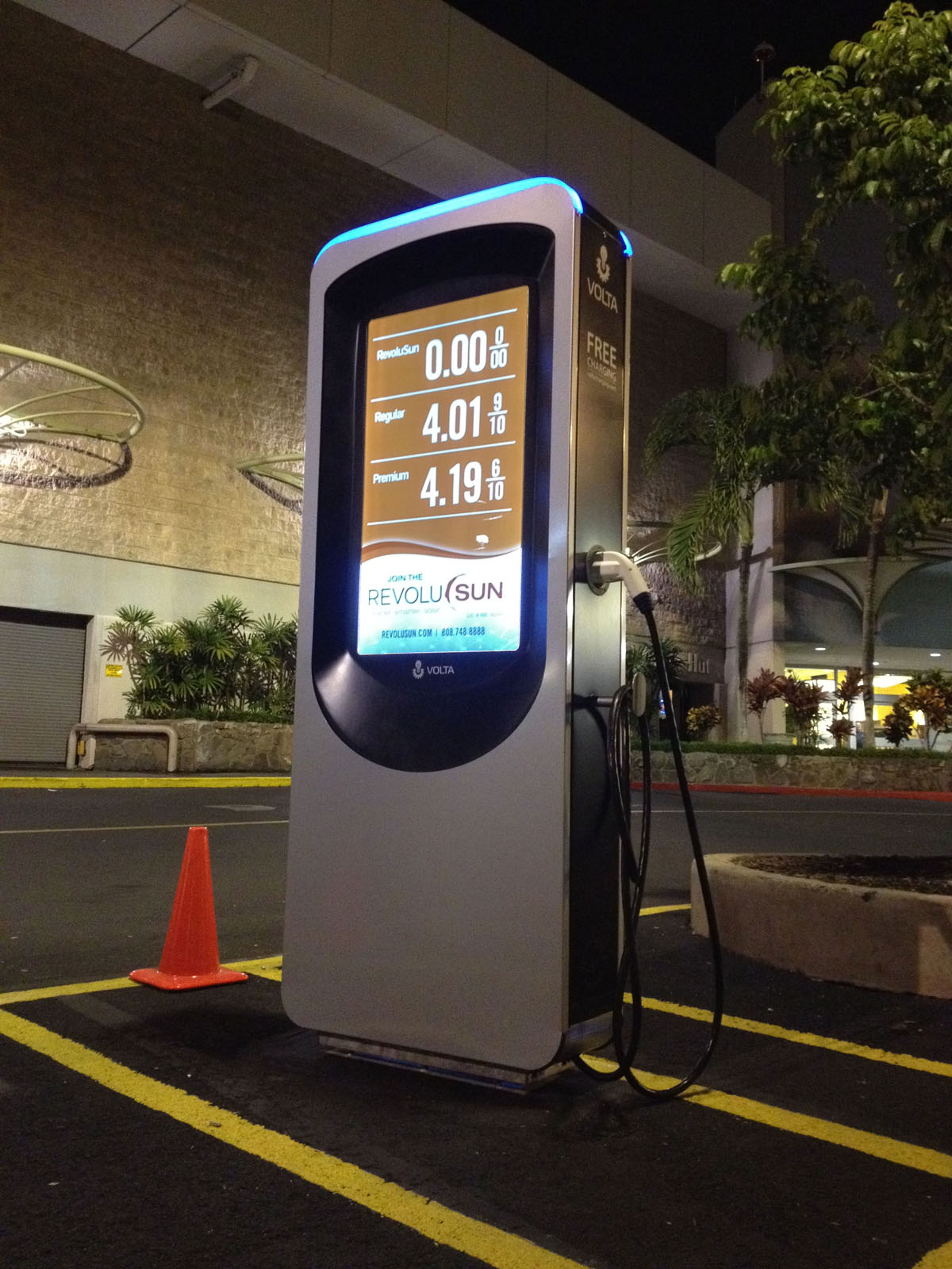Volta Ev Charging Station By Raul Gonzalez Podesta At