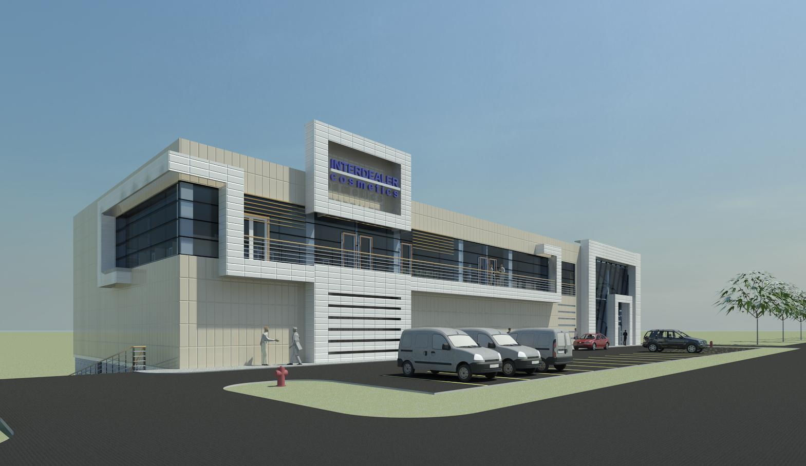 Commercial building bg1 by dheeraj mohan at for Building design