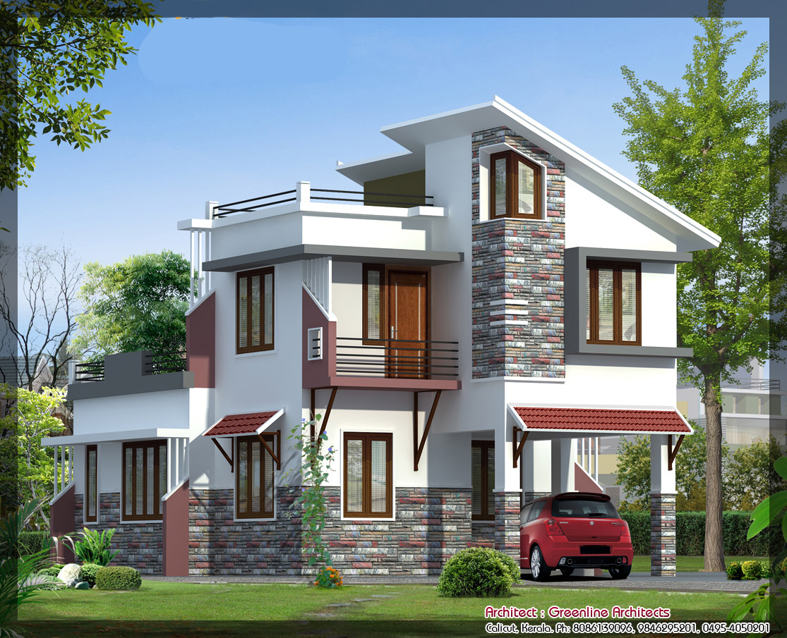 Kerala villas by dheeraj mohan at - Home design plans with photos in india ...