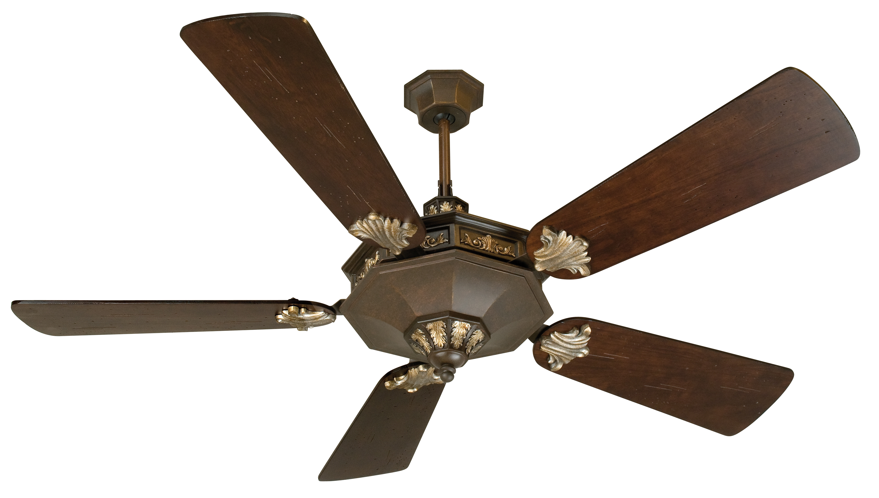 Rustic Weathered Patina Ceiling Fan Fan Comes As Pictured