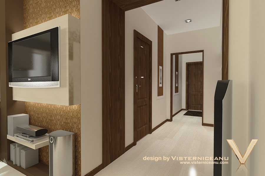 Design interior modern apartament chisinau by design for Dizain case interior