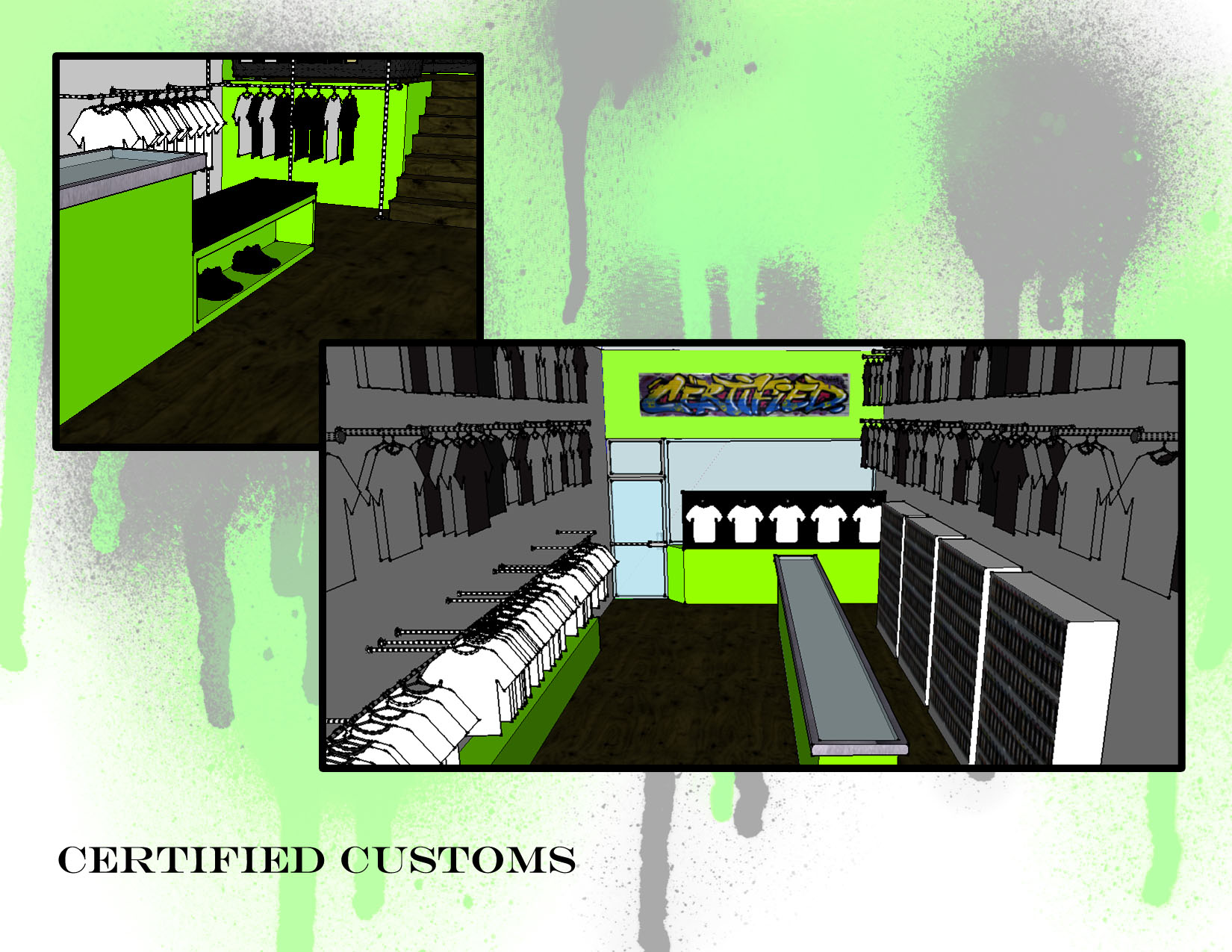 Commercial Design Projects By Renee Corbin At