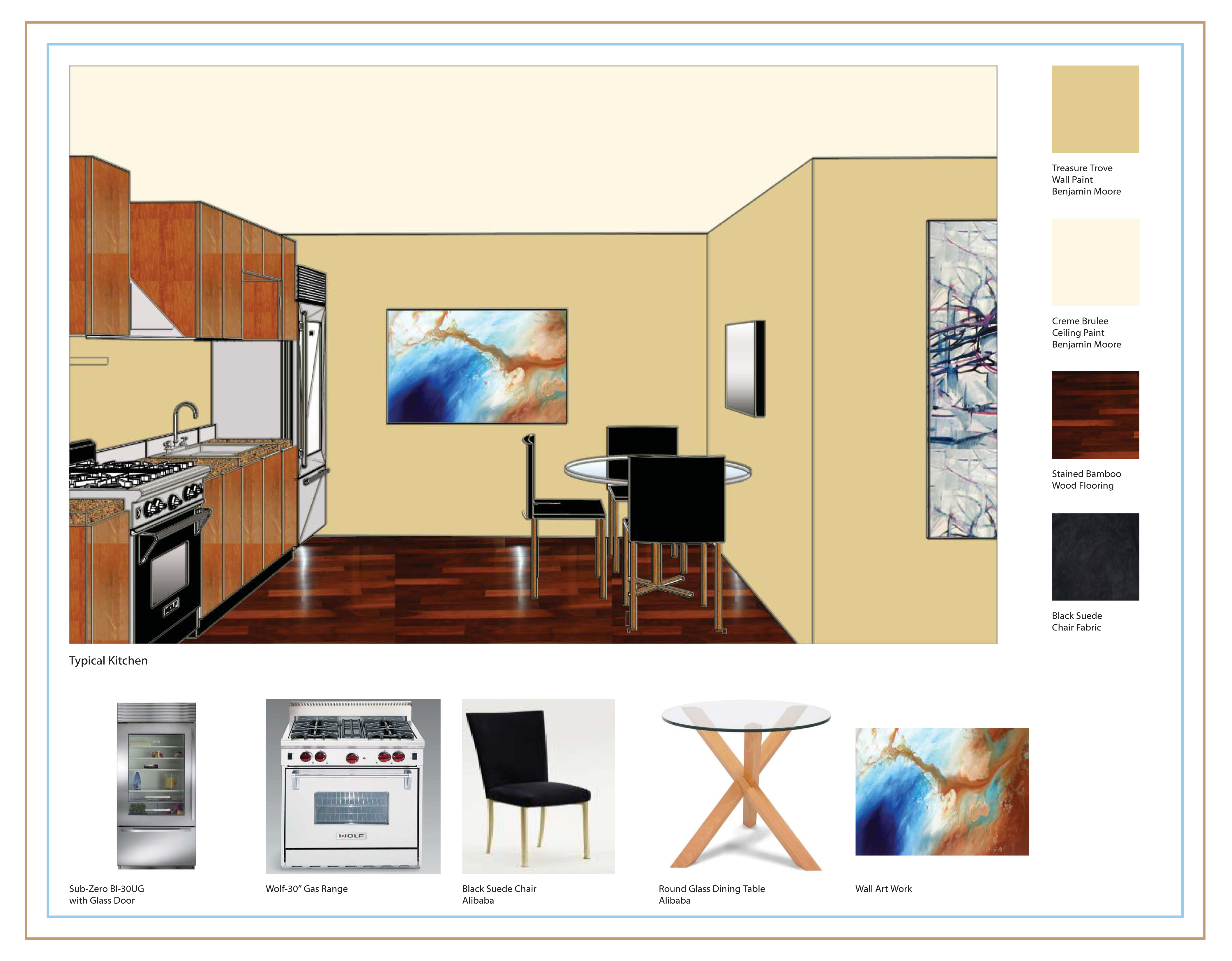 qview full size - Benjamin Moore Creme Brulee