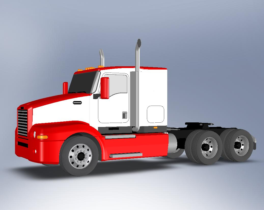 Toy Semi Tractor : Toy semi truck by jafet marquez at coroflot